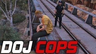 Dept. of Justice Cops #437 - Cart Chaos