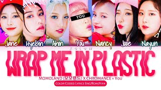 "[Karaoke Ver.] MOMOLAND (모모랜드) X CHROMANCE ""WRAP ME IN PLASTIC"" (Color Coded Han/Ing/가사) (7 Members)"
