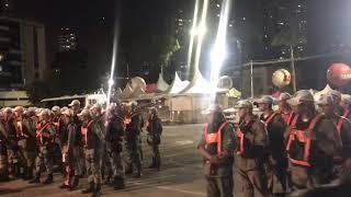 POLÍCIA NA RUA - Após tumulto no Cabo Branco, PMs iniciam policiamento na quarta-feira de Muriçocas de Miramar