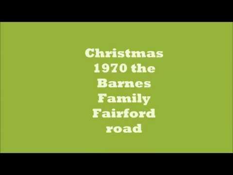 Christmas 1970 The Barnes Family Cine Movie