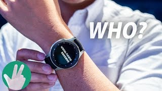 Who might the Galaxy Watch be for?