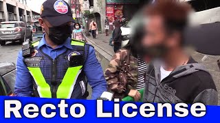 Recto Drivers License