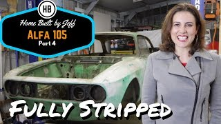 Fully Stripped - Alfa Romeo 105 project car build part 4