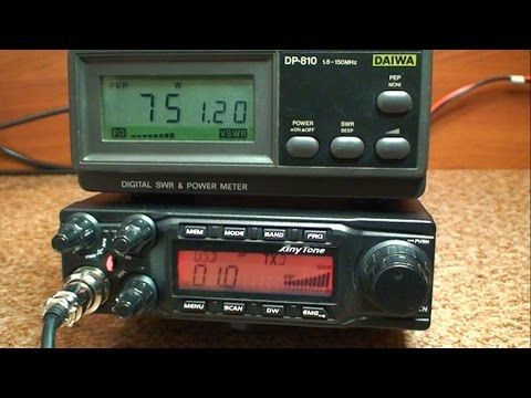 AnyTone AT-588 70 MHz FM Transceiver Unbox & Review
