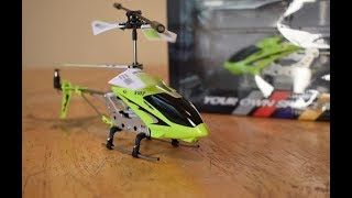 Syma S107G Mini RC Helicopter  - Unboxing and Flight Review