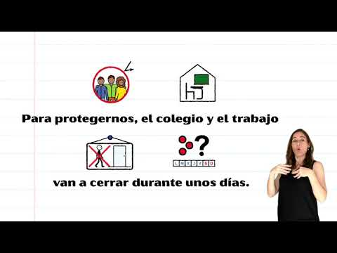 Conocé al Covid 19 en este video accesible con pictogramas