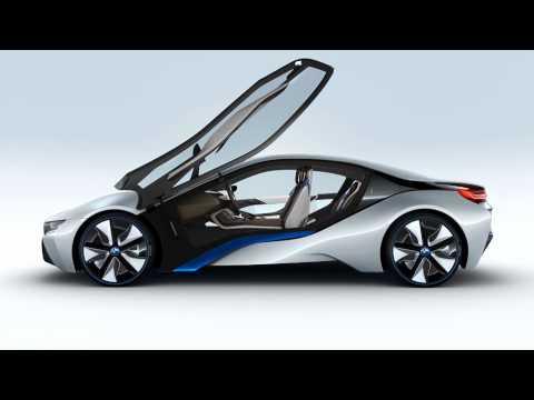 les bmw i3 et i8 d voil es voiture electrique. Black Bedroom Furniture Sets. Home Design Ideas