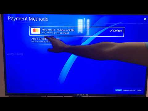 How To Remove Credit Card/Debit Card details On PS4 or PS Pro?