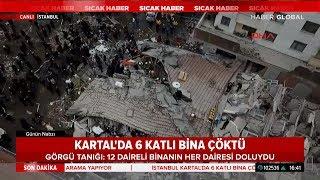 İstanbul Kartal'da 8 Katlı Bina Neden Çöktü? Haber Global Ekibi Olay Yerinden Bildirdi!