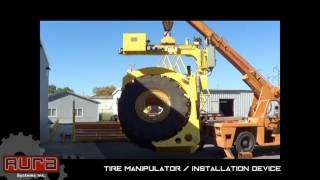Aura Systems - Tire Manipulator/ Installation Device