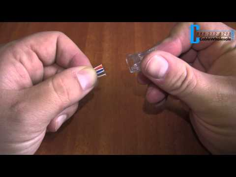 How to Make a CAT5E or CAT6 Ethernet Patch Cable