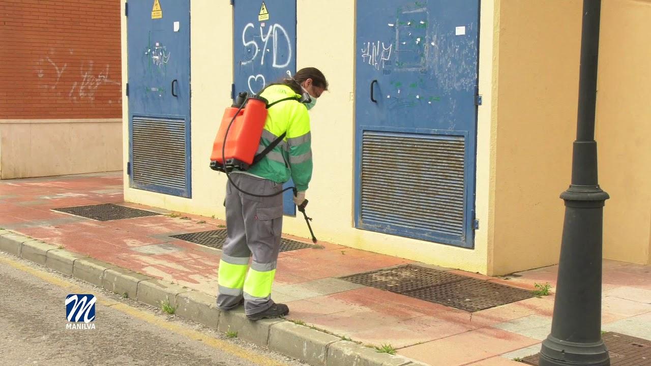 Desinfección de nuestras calles