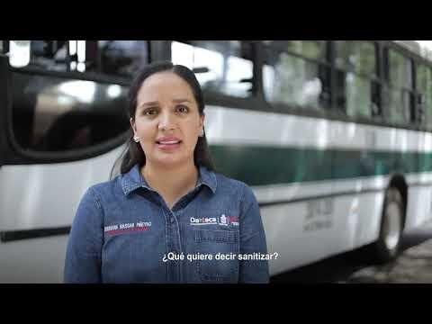 SANITIZACIÓN DE TRANSPORTE PÚBLICO  MODALIDAD URBANOS