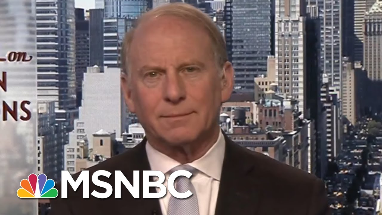 Richard Haass: 'Leave The Nuclear Alone, Deal With Everything Else'  | Andrea Mitchell | MSNBC thumbnail