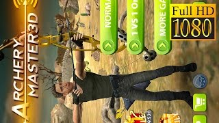 Archery Master 3D Game Review 1080P Official Terrandroid Sports 2016