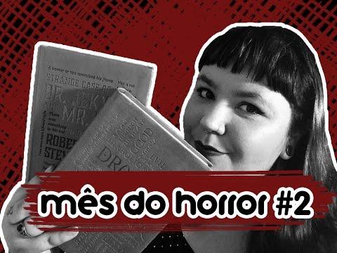 mês do horror #2: dracula / dr. jekyll & mr. hyde | 3ª EDIÇÃO