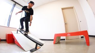 SKATEPARK IN A TINY ROOM (You Must Skated It!) / Warehouse Wednesday