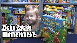 Zicke Zacke Hühnerkacke (Zoch) - ab 4 Jahre - Spiel des Jahres Sonderpreis Kinderspiel 1998
