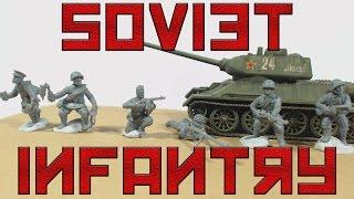 Bolt Action Soviet Infantry (28mm scale)