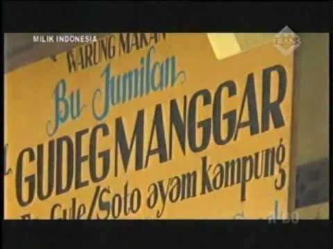 Video Sejarah Gudeg makanan khas Yogyakarta