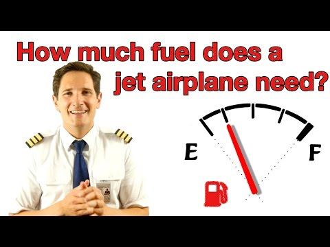 How much fuel does a jet airplane need? Explained by Captain Joe