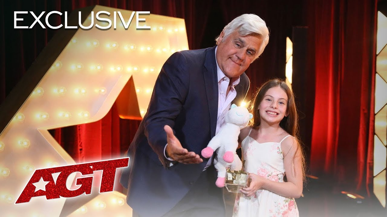 Jay Leno Reflects On Why He Gave Emanne Beasha The Golden Buzzer! - America's Got Talent 2019 thumbnail