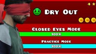 Geometry Dash - Level Four Closed Eyes
