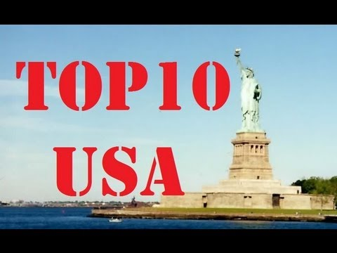 Video Visit America - Top 10 Cities in the USA