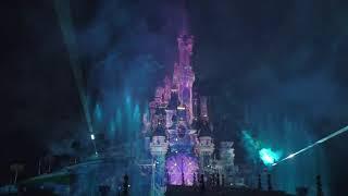 Disney Illuminations - part 2. Christmas in Euro Disneyland, Paris