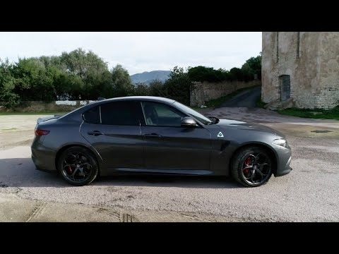VIDEO. Essai Moteur : la puissance de l'Alfa Roméo Giulia Quadrifoglio