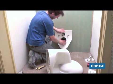 comment reparer wc suspendu
