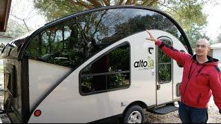 Alto Safari Condo Full Walk-Through   Teardrop Camper Trailer