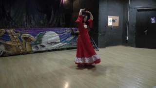 Эх раз.. цыганский танец, Ошуркова Татьяна. Школа Шантел , рук. Ганга Баталова