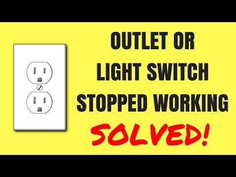 How to fix a Sudden Glitch With Your Outlet or Light Switch