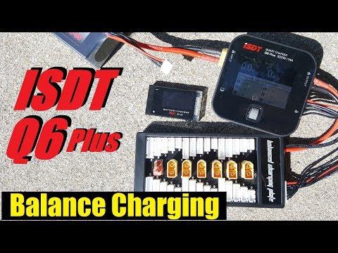 ISDT Q6 Plus Balance Charging Explanation