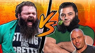 Robert Oberst VS. Patrik Baboumian - What I eat in a Day | Vegan Vs Strongman