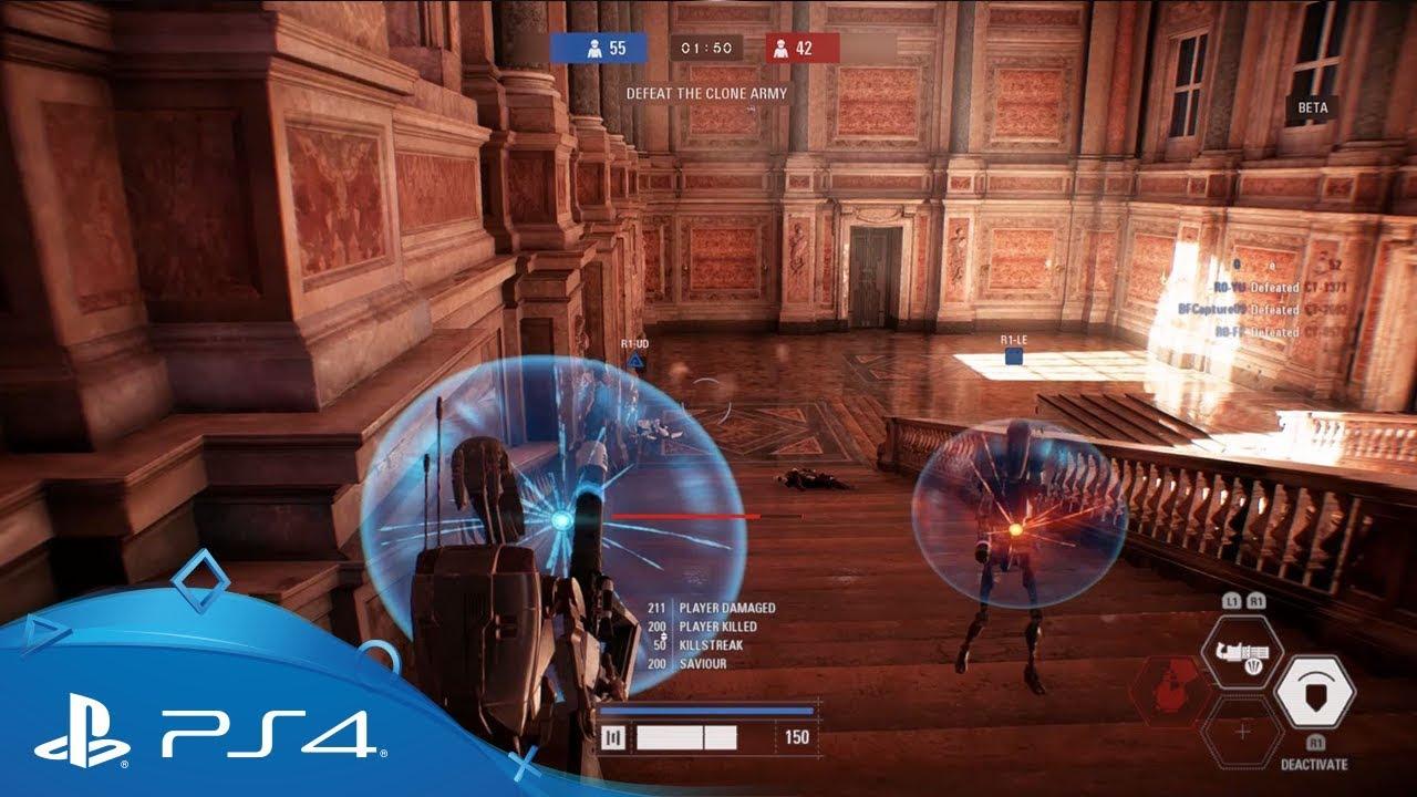 Avete preordinato Star Wars Battlefront II? Iniziate a giocare oggi con la beta per PS4
