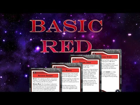 Armada - Objectives - The Basic Red