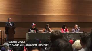 Daniel Bryan, Bella Sisters Interview - What do they love about phoenix