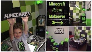 Minecraft Room Makeover | DIY Minecraft Decor For Bedroom