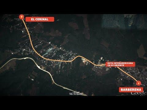 #AtrapadosEnElTráfico: 20 minutos para cruzar 7 Km en Barberena