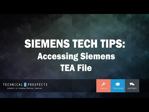 Accessing Siemens TEA File