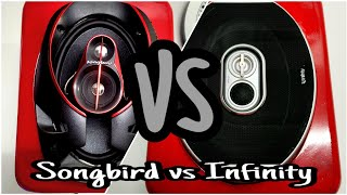 Infinity VS Songbird (6X9 Speakers Comparison)