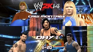 preview picture of video 'WWE 2K14 CAW Montage - 27 - The Second Part Begins'
