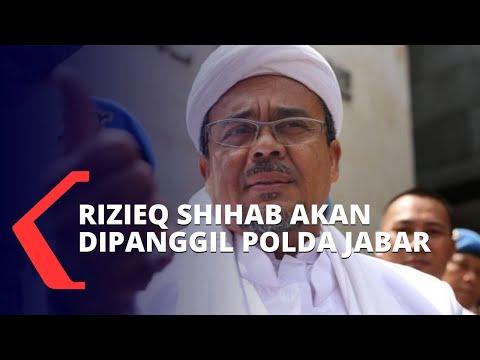 rizieq shihab akan dipanggil polda jabar soal kegiatan di bogor