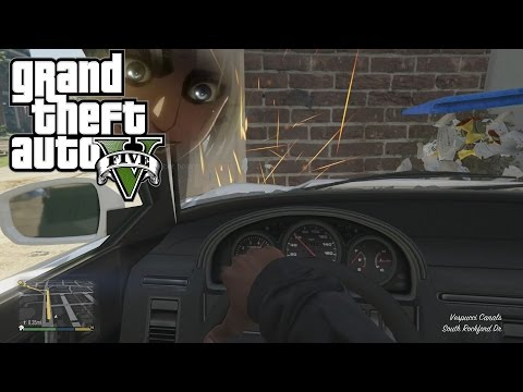 GTA 5 - First Person Driving And Crashing (GTA V PS4 Gameplay)