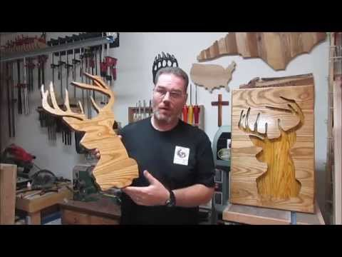 Rustic Wall Art From Scrap Wood Salvage