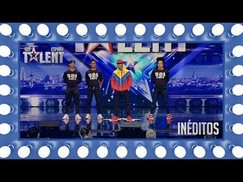 Sol Bboys arrasa desde Venezuela con su break dance | Inéditos | Got Talent España 2018