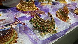 Bridal Jewellery Collection 2020 ,Bridal Set, Bangles,Earring,Stone Kundan AD Jewellery Manufacturer