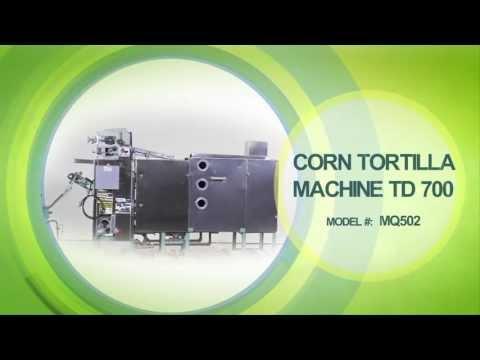 TD700 Corn tortilla machine